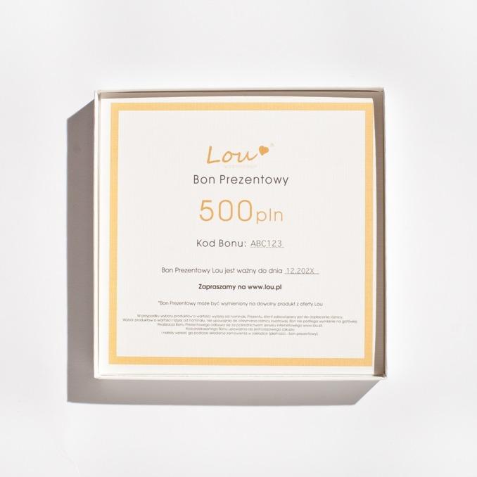 BON PREZENTOWY 500PLN